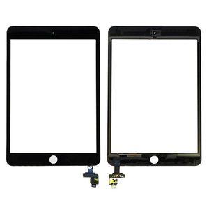 20PCS de la pantalla táctil del panel de cristal con digitalizador con IC Conector para Mini iPad 3 DHL libre