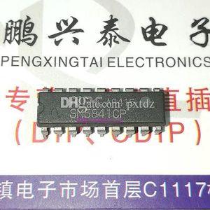 SM5841AP. SM5841BP. SM5841CP, SM5841HP, Dual-Inline-18-poliges Tauchgehäuse aus Kunststoff. Integrierte IC-Bausteine für PDIP18 / Electronic Components