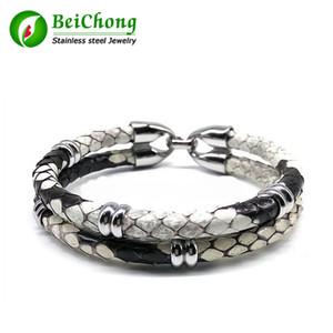 BC Latest Luxury Python Lederarmband Snake Leder für Watch Echtes Leder für Frauen und Männer