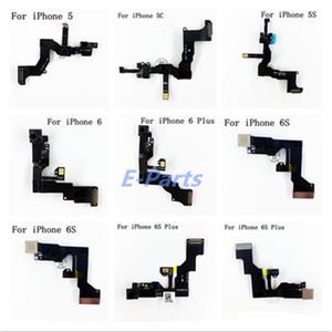 Fotocamera frontale per iPhone 5 5 s 5c 6 6 s 6 sf anteriore fotocamera sensore di prossimità sensore di luce flex cavo a nastro spedizione gratuita