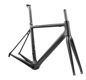 2 anni di garanzia telai in bicicletta di carbonio 1K o 3K T1100 Set di telaio in carbonio giallo zolfo o 3K set di carbonio bianco spedizione gratuita