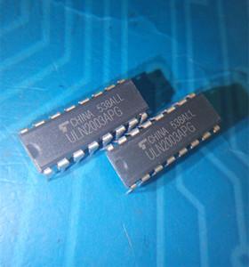 Venta al por mayor-Libre 50 piezas de lote ULN2003 ULN2003A ULN2003APG DIP16 electrónica parte en stock nuevo y original ic