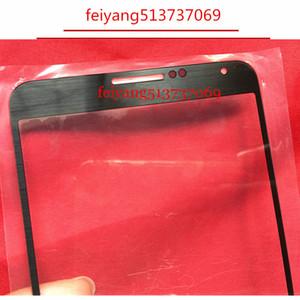 العلامة التجارية الجديدة الأصلي الخارجي الزجاج للحصول على سامسونج غالاكسي ملاحظة 3 N900 N9005 N900A LCD تعمل باللمس محول الأرقام جبهة زجاج عدسة