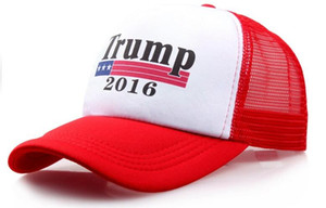 2016 Make America Great Again Hat Donald Trump Baseball Hat Mesh Cap free shipping!
