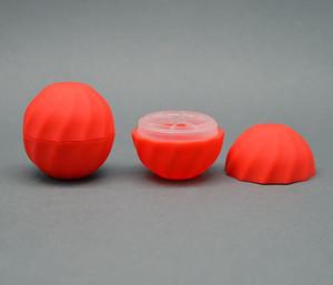 فارغة التجميل الكرة الحاويات 7G 5colors بلسم الشفاه ملمع جرة كريم العين حالة عينة أحمر برتقالي بنفسجي أخضر أسود