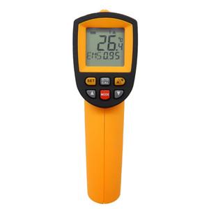Freeshipping الرقمية ir ميزان الحرارة عدم الاتصال ترمومتر الأشعة بندقية الحرارة -50 ~ 950C (-58 ~ 1742F) 0.1 ~ 1.00 تعديل