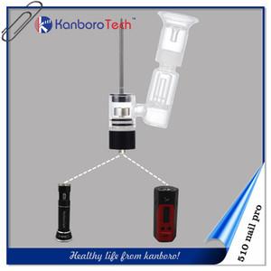 Kanboro gelen en iyi görünüyor cam boru ile elektronik sigara shisha kalem 510 çivi pro mod için son tasarım ..