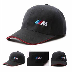 جيد الجودة الرجال الأزياء القطن سيارة شعار m الأداء قبعة بيسبول ل bmw m3 m5 3 5 7 x1 x3 x4 x5 x6 330i z4 gt 760li e30 e34 e36 e38