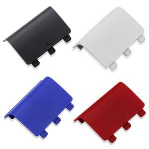 새로운 30PCS * XBOX ONE 무선 컨트롤러 Joypad 용 교체 ABS 배터리 백 커버 케이스 레드 / 블루 / 블랙 / 화이트