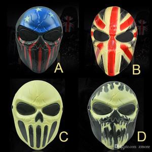 Masques Halloween Zombie M06 crâne masque personnalisé CS facial squelette WarriorGame Masque Masque Ghost effrayant pour salle