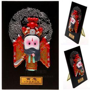 Türü Yurtdışında Karikatür Heykelcik Huang Karakter Kolye Süsler Opera Mefruşat Hediye İşleri Zhong Üç Yabancı Maske Ev Brnrx