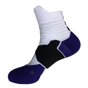 Professional Breathable Combed Cotton Casual Men Mid calf socks high quality Brand man Sporting socks Free Shipping