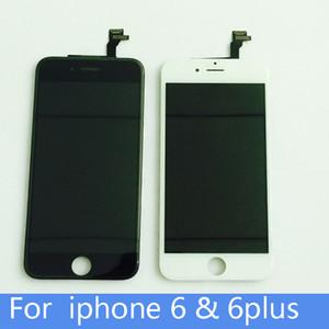 Sınıf A + + + LCD Ekran Dokunmatik Digitizer Komple Ekran Çerçeve ile Tam Meclisi Yedek iPhone 6/6 s iPhone 6/6 s Artı