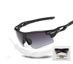 الرياضة في الهواء الطلق نظارات اللونية الرجال ركوب الدراجات نظارات دراجات زجاج MTB دراجة دراجة ركوب الدراجات النظارات الشمسية الصيد