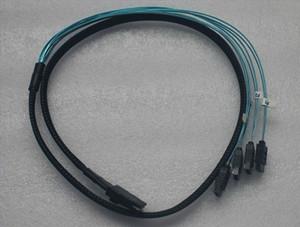1-4 MINI SAS hard drive data cable line reverse chassis mini sas hard disk