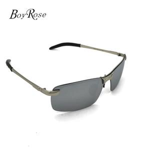 Brand BoyRose 68MM Silver Lenses Gafas de sol de lujo Fashion Evidence Rays Sunglasses Gafas de diseñador Eyewear Para hombres Mujeres Bans 3043 Case