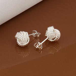 Venda quente tênis esterlina prata prata jóias brinco para as mulheres we013, moda 925 earings de prata