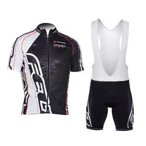 2018 Filz Radfahren Jersey Lätzchen / Shorts Set Sommer Pro Team schnell trocknend Männer Fahrrad tragen Culotte atmungsaktive MTB Reitbekleidung H1502
