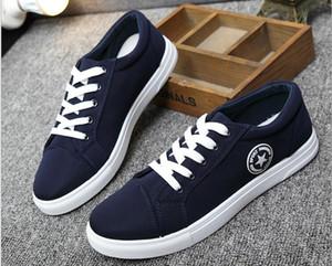 Zapatos de lona de las mujeres de los hombres de la zapatilla de deporte de los zapatos de lona altos azules de Chuck de 3 colores Envío libre, de calidad superior
