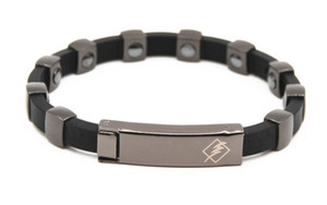 Antistatisches Armband-negativer Ionen-Strahlenschutz-Gesundheits-Magnettherapie-Armband