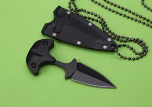 hot sale claw folding  puching fixed blade knife hunting   camping tools outdoor tools 440C blade ABS sheath