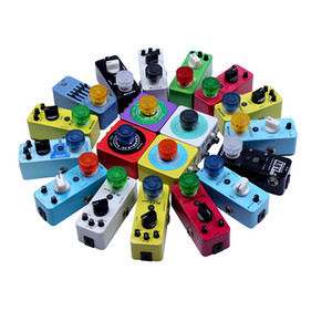 10PCS Mooer Candy Footswitch Topper Colorful Plastic Bumpers Footswitch Protector For Guitar Effect Pedal