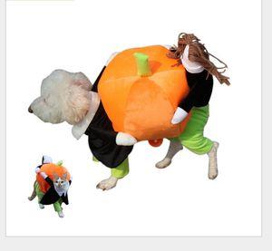 Engraçado Abóboras Roupas de Cachorro Traje Melhor Qualidade Quente Pet Jaqueta Casaco de Estimação Cães Roupas Roupas de Gatos Para 2-9kg Cão