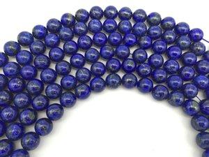 "4,6,8,10,12,14,16mm Perle Lapis Lazuli Naturel Perles Perles Rondes Strand 15 ""Pour Collier De Bijoux DIY"