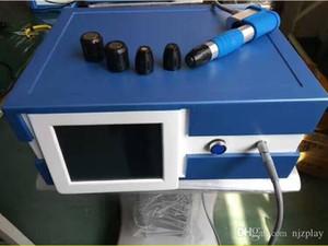 2018 nouvelle arrivée !! Traitement de la douleur plus puissant Electri Shockwave Therapy Equipment Bullet Barrel Shock Wave Therapy EU sans taxe Machine CE