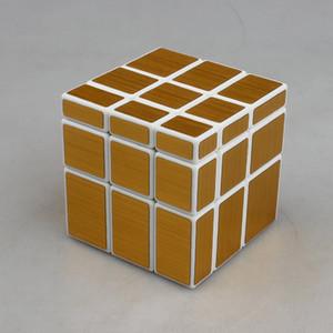 ShengShou 57mm 3x3x3 Blocchi specchio Cast cubo rivestito Puzzle Puzzle Giocattolo educativo Cubo disegno dritto Specchio Twist Cubo Nave libera