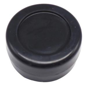 100pcs 3ML noir bon marché petit rond contenants en silicone antiadhésive pots dab contenant de cire de silicone OD 26 * ID 18 * T 17 MM
