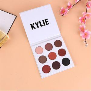 Nueva Moda Borgoña paleta de Sombra de ojos Maquillaje Kylie Jenner Sombra de Ojos La Paleta de Sombra de Ojos Borgoña envío gratis FB011