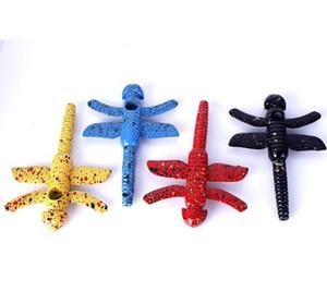Çift kullanımlı sevimli bambu dragonfly sigara tutucu taşınabilir aksesuarları yaratıcı anahtar kolye mini modelleme borusu