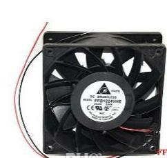 Delta 12038 FFB1224VHE 12CM Axial Cooler With 24V 1.2A 2 WIres For Inverter,converter,Server