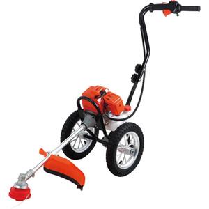 Mano spinta rasaerba 4 tempi mini potenza mondine frumento taglierina macchina mietitrice macchina taglio dell'erba motore agricola