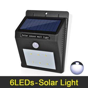 Luz Solar LEVOU IP65 À Prova D 'Água Ao Ar Livre Iluminação Ultra Brilhante LEVOU Lâmpadas de Parede Lâmpada Solar Para Casa Jardim Corredor Decoração