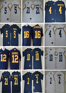 NCAA Michigan Wolverines 10 Tom Brady 2 Charles Woodson 4 Jim Harbaugh Jerseys 5 Jabrill Peppers 21 Desmond Howard College Jersey