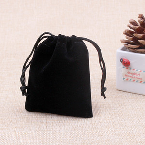 10pcs bag Jewelry Packing Velvet bag 7x9cm,packaging bags Drawstring Gift bags & Pouches