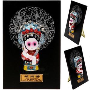 Karikatür Heykelcik Opera Karakter Maskesi Kolye Süsler Ev Mobilya Hediye Güneş Shangxiang Yurtdışı Yurtdışı Nnmlg