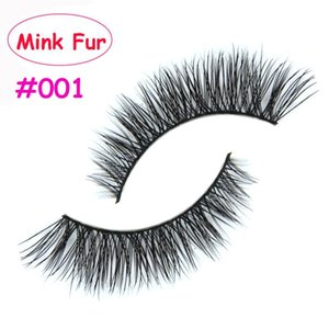 2017 new! 001 Thick False Fake Eyelashes Eye Lashes Makeup Extension Beauty Tools