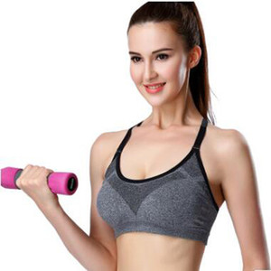 2017 professionelle high-intensity yoga kleidung weste shockproof fixed running fitness sport underwear bh dünne abschnitt wicking sommer billig
