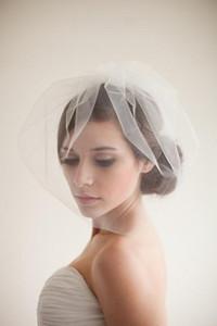 2019 más barato de una capa nupcial boda velos de colorete con peine nupcial Best Selling Hair Headpieces Accesorios