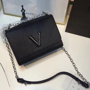 borsa a tracolla da donna in pelle borse tracolle a catena borsa a tracolla Epi marca borse firmate borse da donna di alta qualità a specchio