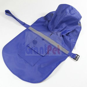 Cão de estimação capa de chuva refletir tecido fita à prova de água e à prova de neve roupas golden retriever grande cão grande