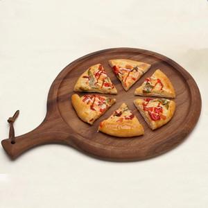 Acacia Wood Pizza Peel Роскошное весло для выпечки домашней пиццы и хлеба, отлично подходит для сыров