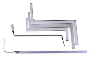 2017 Nuovo 5 pz serratura strumenti di raccolta fabbri Doppia Fila Strumenti di Tensione Set Picking Set Fabbro Forniture In Acciaio Inox Stell Strumenti di prelievo