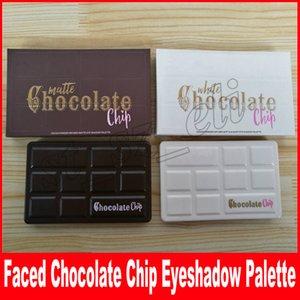 Beyaz Çikolata Chip Göz Farı Paleti Mat Çikolata Çip Makyaj Paleti Cosmestics 11 Renkler Gölge DHL Ücretsiz