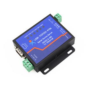 Freeshipping Terminal de Alimentação RS232 RS485 para TCP / IP Conversor Serial Ethernet Serial Device Server