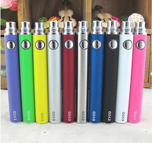 Cigarettes électroniques de batterie de préchauffage de batterie de haute qualité Evod pour le kit de clapet de vaporisateur E de MT3 Ce4 Ce5 650mAh 900mAh 1100mAh DHL libèrent