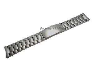 JAWODER Watchband 20mm 22mm High Quality Brushed Finish Pure Solid Stainless steel Watch band Strap Bracelets For omega watch